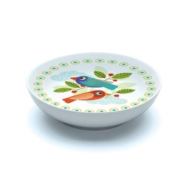 Djeco, miseczka porcelanowa w ptaszki kolorowe
