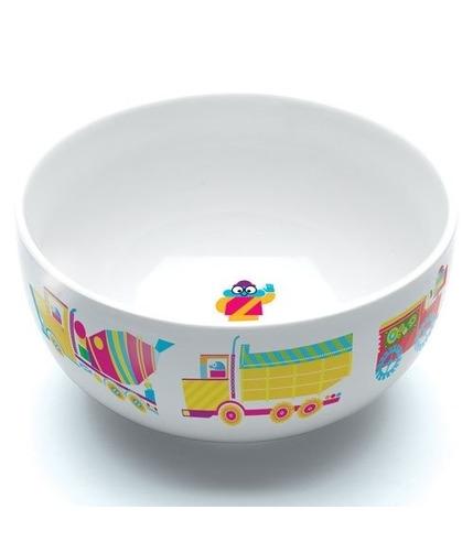 Miseczka porcelanowa w ptaszki kolorowe Djeco