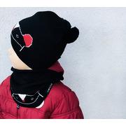 Lullalove, Ciepła czapka MRB z pomponikami 0-3 m-cy