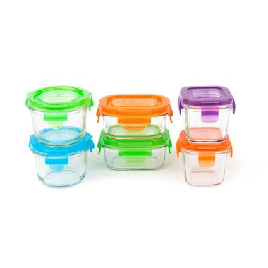 Wean Green, Pojemniczki z hartowanego szkła - zestaw startowy dla dziecka