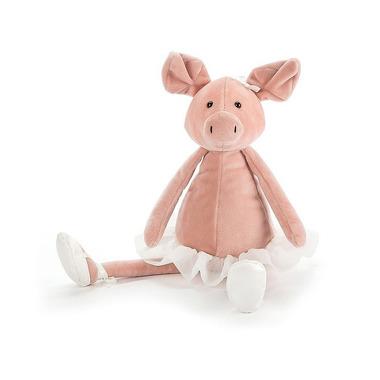 Jellycat, Tancerka świnka 33cm