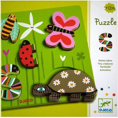 Djeco, puzzle drewniane Łąka