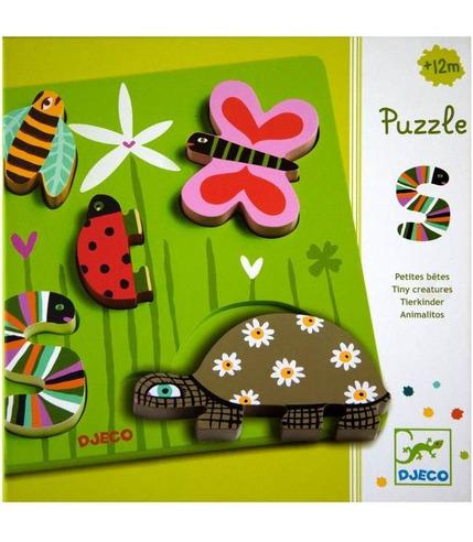Puzzle drewniane Łąka Djeco
