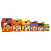 Sevi, Kolorowe pudełka Sorter dla dzieci Cyrk