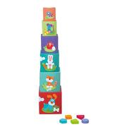 Sevi, Kolorowe pudełka Sorter dla dzieci Farma