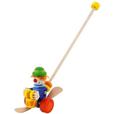 Sevi, Drewniany pchacz na kiju, Niebieski Clown