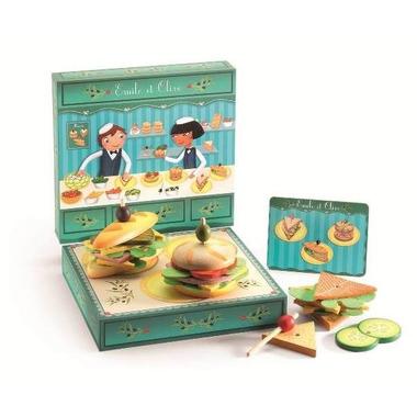 Djeco, sandwichBar - zestaw do robienia kanapek