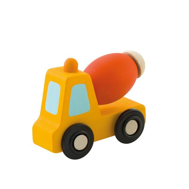 Sevi, Pomarańczowa betoniarka z ruchomym elementem