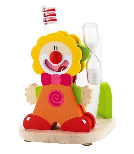 Sevi, Zestaw do mycia zębów, pomarańczowy clown