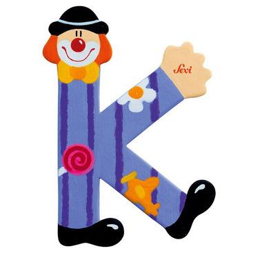 Sevi, Drewniana literka K, Clown