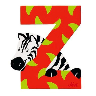 Sevi, Drewniana literka Z, zwierzęta
