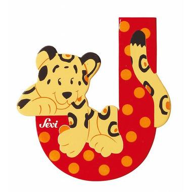 Sevi, Drewniana literka J, zwierzęta