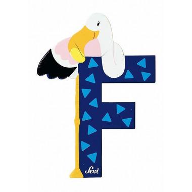 Sevi, Drewniana literka F, zwierzęta