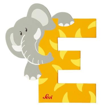 Sevi, Drewniana literka E, zwierzęta