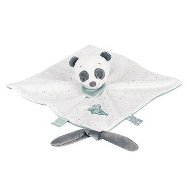 Nattou, Przytulanka/Pacynka doudou z zawieszką na smoczek Panda Loulou