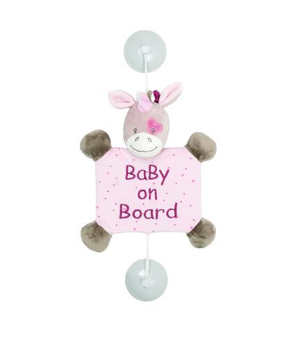 Nattou, Nina, Jade & Lili, Zawieszka z przyssawkami Baby on Board Jednorożec Jade