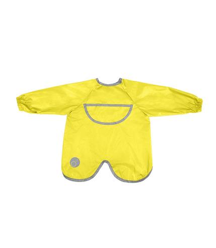 B.Box, Wodoodporny fartuszek-śliniaczek z rękawami lemon sherbert