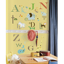 Naklejki do wielokrotnego użytku - Zwierzęcy alfabet