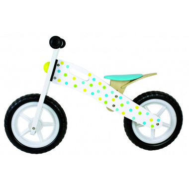JaBaDaBaDo, Rowerek biegowy w kropki niebieski