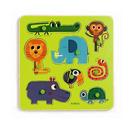 Puzzle Djeco - zwierzątka z dżungli