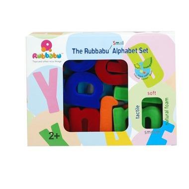 Rubbabu, Alfabet małe litery, zestaw mały