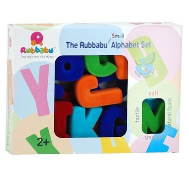 Rubbabu, Alfabet wielkie litery