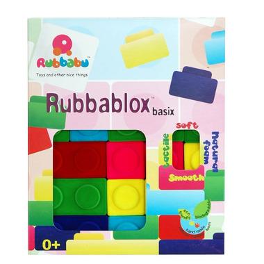 Rubbabu, Kolorowy zestaw klocków