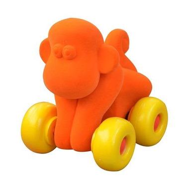 Rubbabu, Małpka pojazd, kolor pomarańczowy