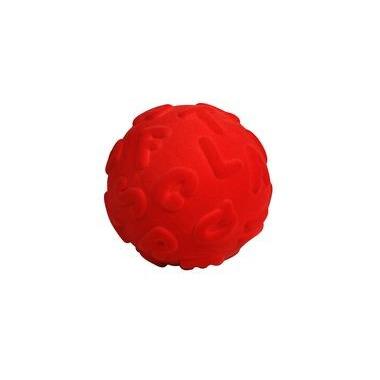 Rubbabu, Piłka alfabet duże literki, kolor czerwony
