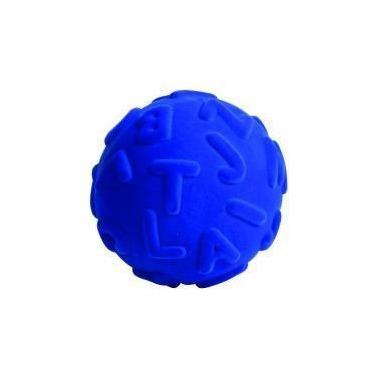 Rubbabu, Piłka alfabet duże literki, kolor niebieski