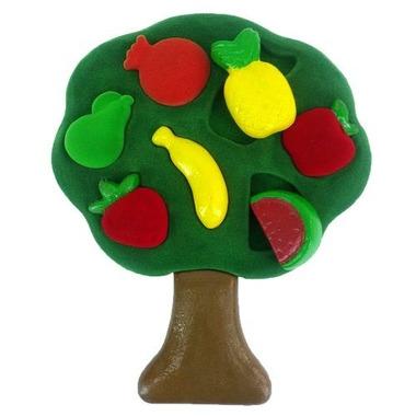 Rubbabu, Sorter 3D kształty owoce