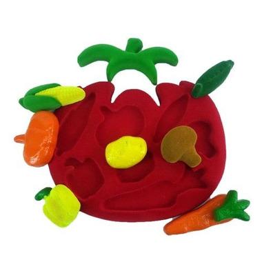 Rubbabu, Sorter 3D kształty warzywa