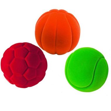 Rubbabu, Trzy sportowe piłki