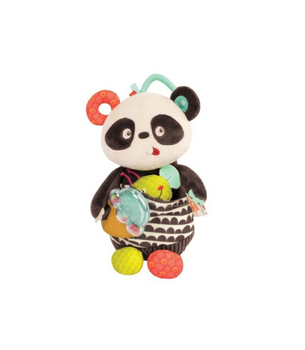 Btoys, Pluszowa panda z niespodziankami sensorycznymi - Party Panda