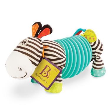 Btoys, Squeezy Zeeby - zebra - akordeon dla maluszków