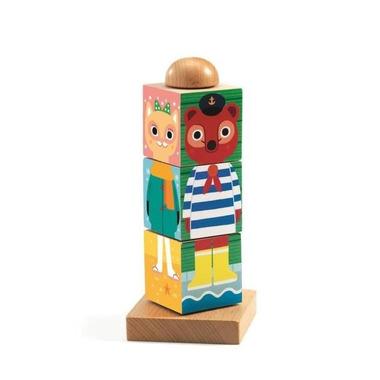 Djeco, Drewniane klocki obrotowe TWISTANIMO