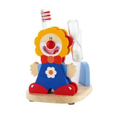 Sevi, Zestaw do mycia zębów, niebieski clown