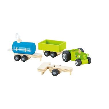 Sevi, Traktor z wymiennymi przyczepkami