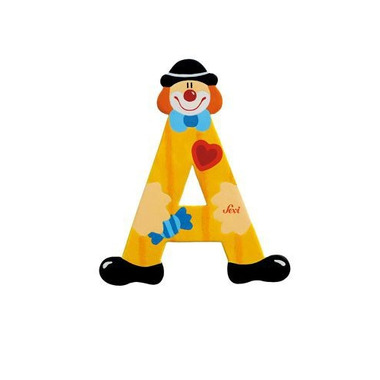 Sevi, Drewniana literka A, Clown