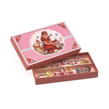 Djeco, Zestaw biżuterii drewnianej jelonki