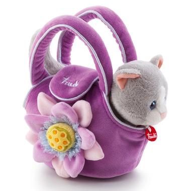 Trudi, Kotek w fioletowej torebce z kwiatkiem