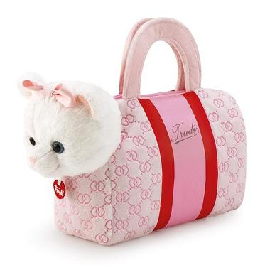 Trudi, Pluszowy kotek w torebce Anastazja