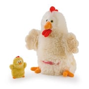 Trudi, Pacynki na rękę, kura i pisklę - mama i dziecko