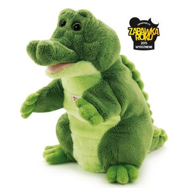 Trudi, Pacynka na rękę, krokodyl, 25 cm