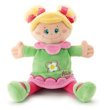 Trudi, Lalka, przytulanka w zielonej sukience