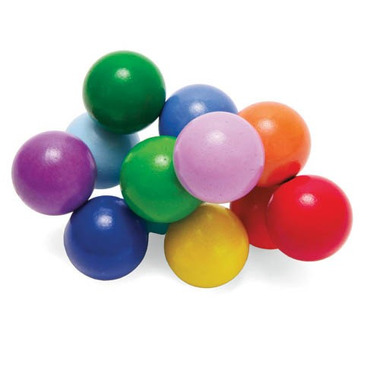 Manhattan Toy, Zabawka motoryczna kolorowe elastyczne perełki
