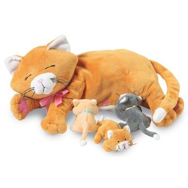 Manhattan Toy, Karmiąca mama kotka, maskotka