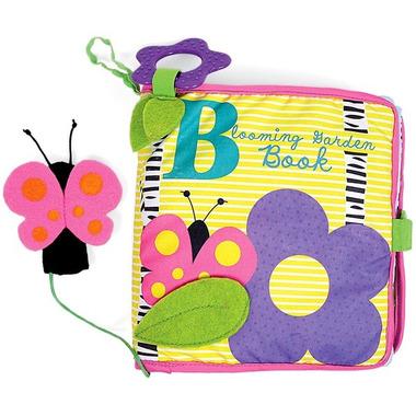 Manhattan Toy, Pierwsza książeczka dziecka, Rozkwitnięty ogród
