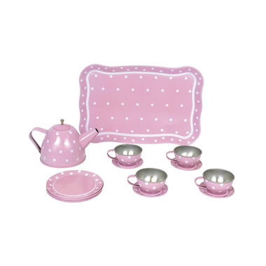 JaBaDaBaDo, Serwis do herbaty różowy