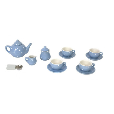JaBaDaBaDo, Porcelanowy serwis do herbaty niebieski